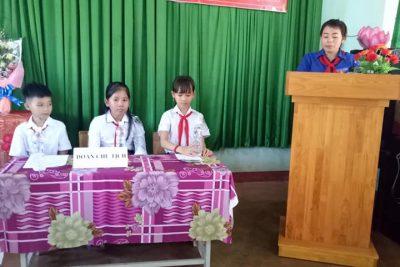 Đại hội Liên đội trường Tiểu học Phan Đăng Lưu năm học 2018-2019