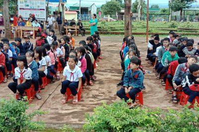 Một số hình ảnh khai giảng năm học 2019 – 2020 trường TH Phan Đăng Lưu